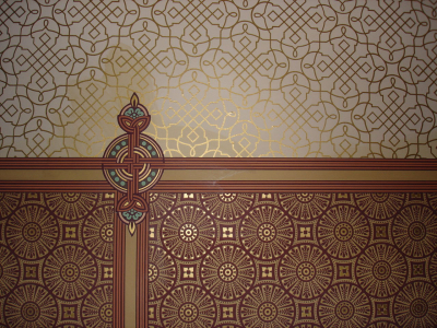 Art Nouveau Wallpaper Picture