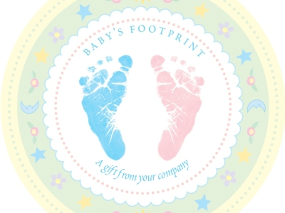Free Background Best Baby Footprints