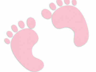 Background Baby Footprints Free