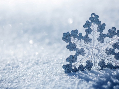 Beautiful Snowflake Background Texture Blue Hd  #1510