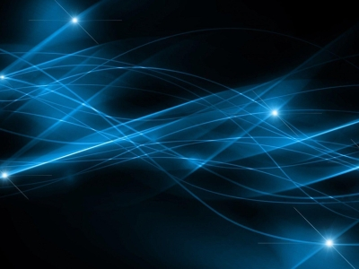 Black And Blue Abstract Wallpaper