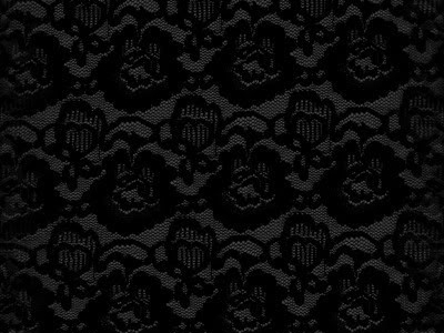 Black And Grey Lace Background