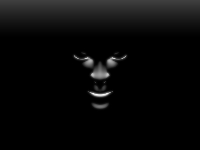 Face Black And White Background