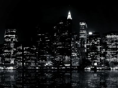 night city black and white background #3295