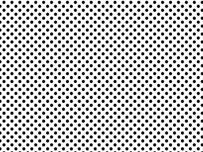 Black And White Background Polka Dot