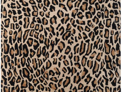 black and white leopard print background #15961