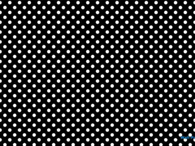 Black And White Polka Dots Background Image