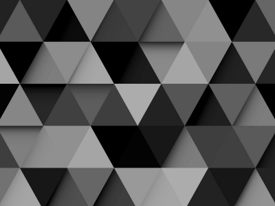 Black And White Triangle Full Hd Wallpaper