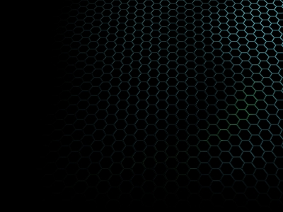 Black Honeycomb Hexagon Background