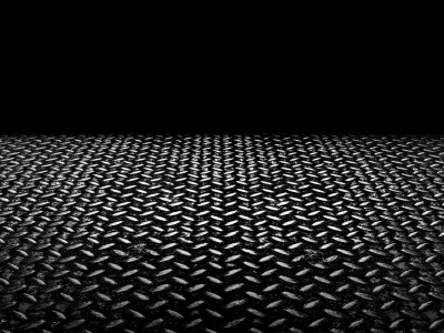 Black Metal Remnants Diamond Plate Wallpaper