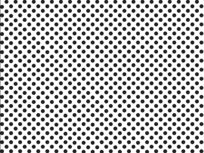 Black Polka Dots Background