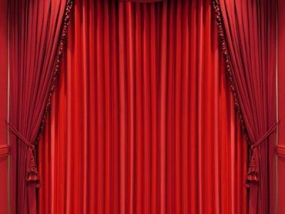 black red stage background curtains velvet stage #6645