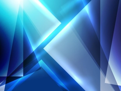 Blue Abstract Background Design Photo