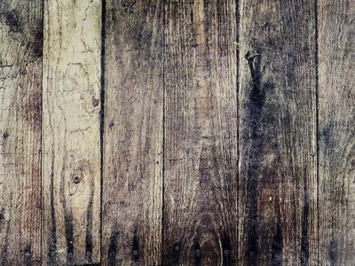 Blue And Dark Rusted Wood Background