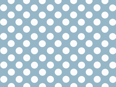 Blue And White Polka Dot Background