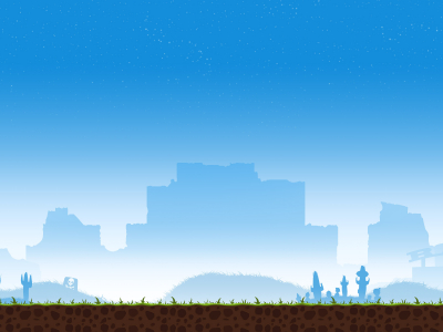 Blue And White Simple Game Background