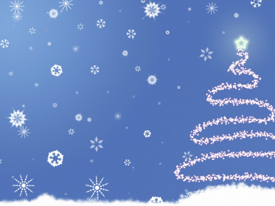 Blue Holiday Ppt Background