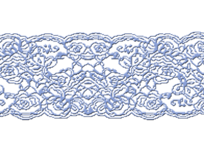 blue lace transparent background