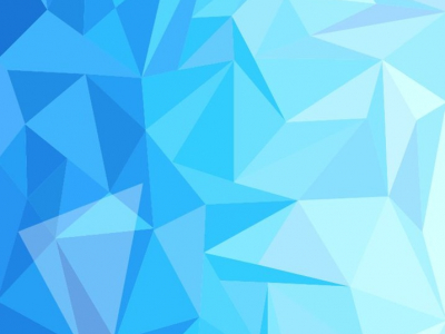Blue Low Poly Design Abstract Background