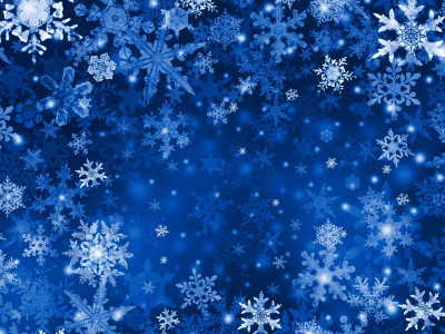 Blue Xmas snowflakes background #1515
