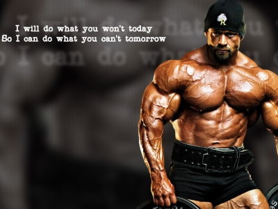 Bodybuilding For Ppt Template