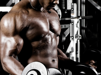 Stock Bodybuilding Image #723