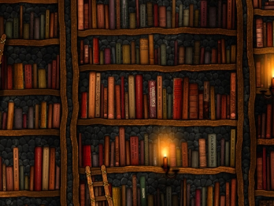 Books Desktop Wallpaper Clipart