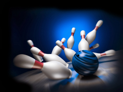 Bowling Background For Powerpoint