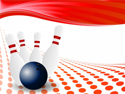 Bowling Background Ppt Template