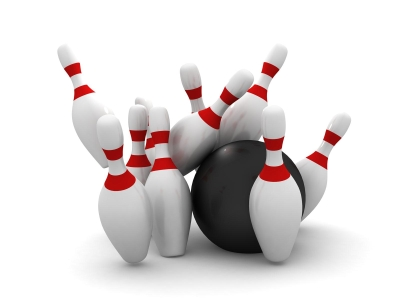 Bowling Background Template