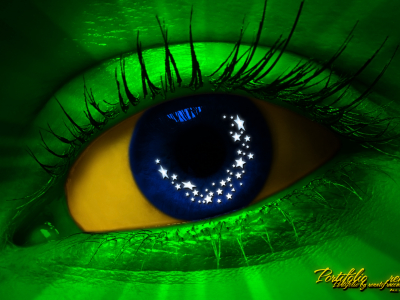 Brazil Eye Wallpaper Background