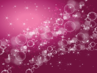 Bubbles Background Pink Abstract