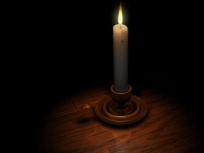 Candle Powerpoint Background