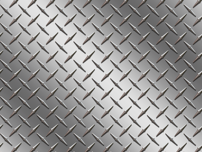 Car Tuning Diamond Plate Background