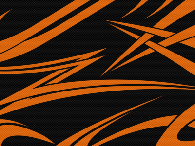 Carbon Black Tribal Abstract High Background