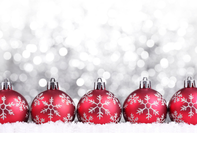 Christmas Ball Ppt Background