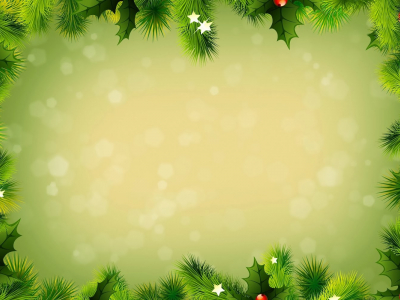 Christmas Greeting Card Message Background