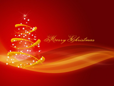 merry christmas tree powerpoint background #618