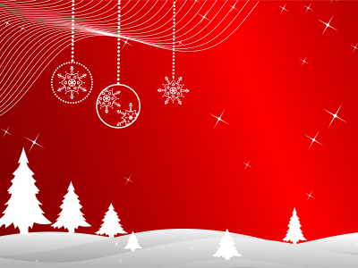 Christmas Vector Art Background