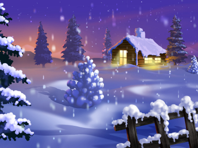 Christmas Winter Pictures Hd Walpaper
