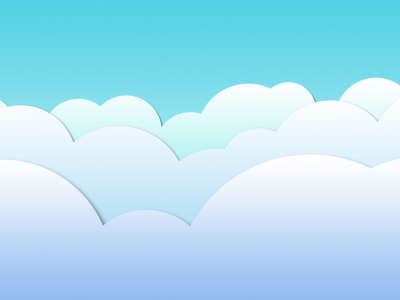 clouds background clipart #1809
