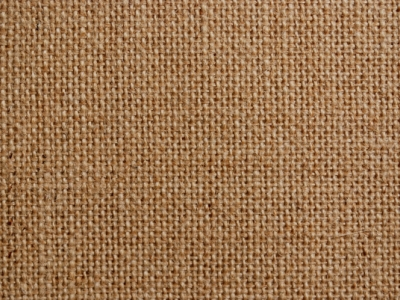 Coffee Tone Fabric Burlap Walpaper