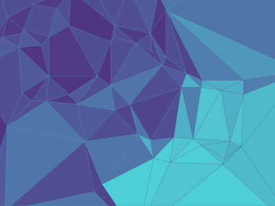 Colorful Geometric Blue Background