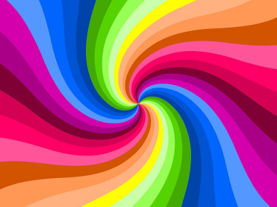 Colors Swirl Background