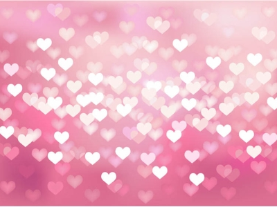 Cool Pink Heart Background #1148