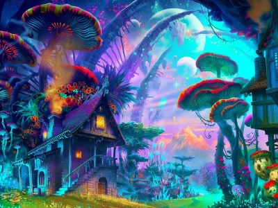 cool trippy  psychedelic wallpaper #13166