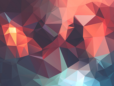 Creative Low Poly Geometric Background