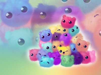 Cute Colors Wallpaper