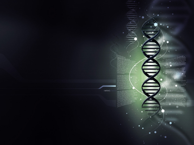 Dark Abstract DNA Wallpaper Image #9242
