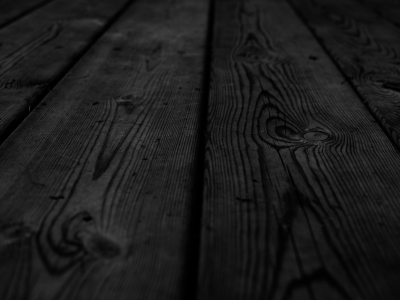 Dark And Black Wood Background
